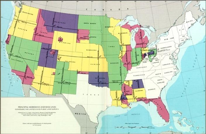 US Public Lands Survey System PLS Exam Prep