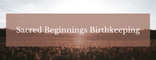 Sacred Beginnings Courses