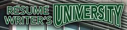 Resume Writer's University