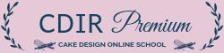CDIR Premium - Cake Design Online School