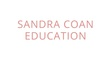 Sandra Coan Workshops