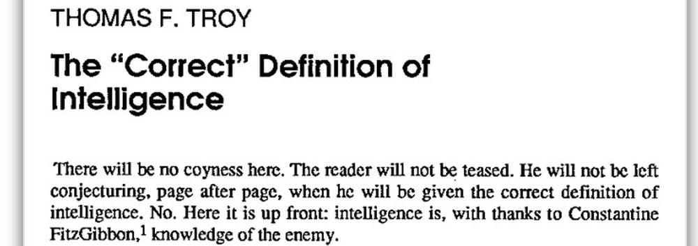Blog   Intelligence 101