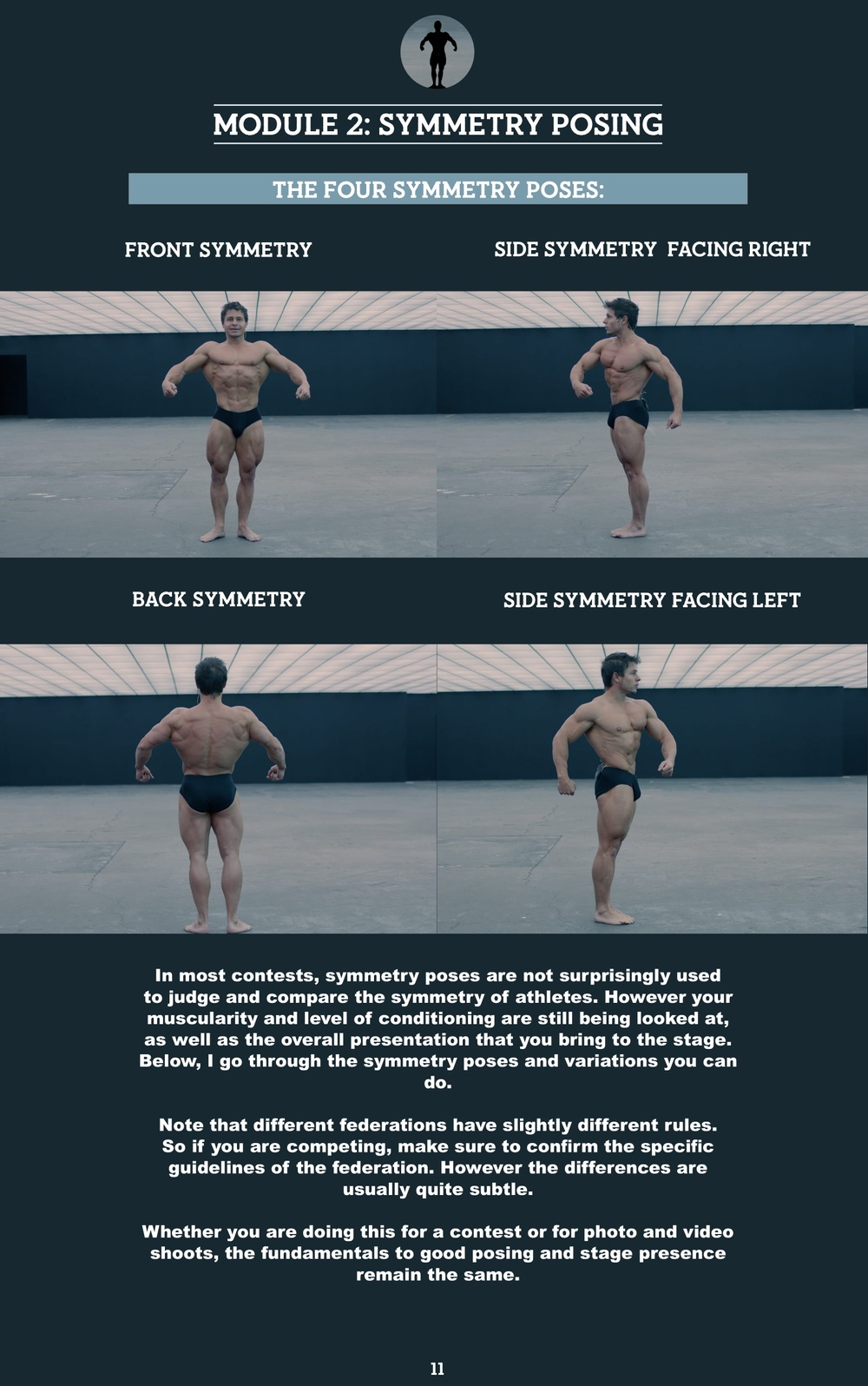 1  Introduction to symmetry posing and the front symmetry pose | The