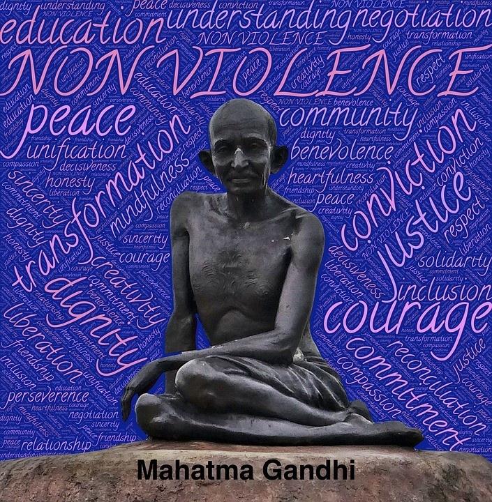 10 Ways To Stop Violence Through Non-Violence | The Gandhi ...