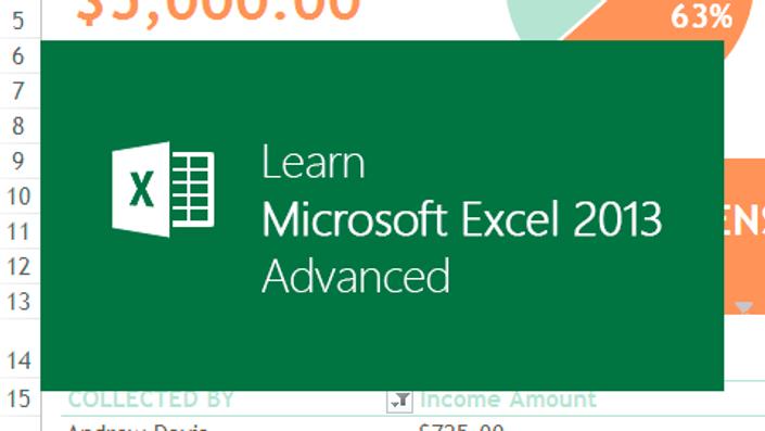 Learn Microsoft Excel 2013 - Advanced | Microsoft Office