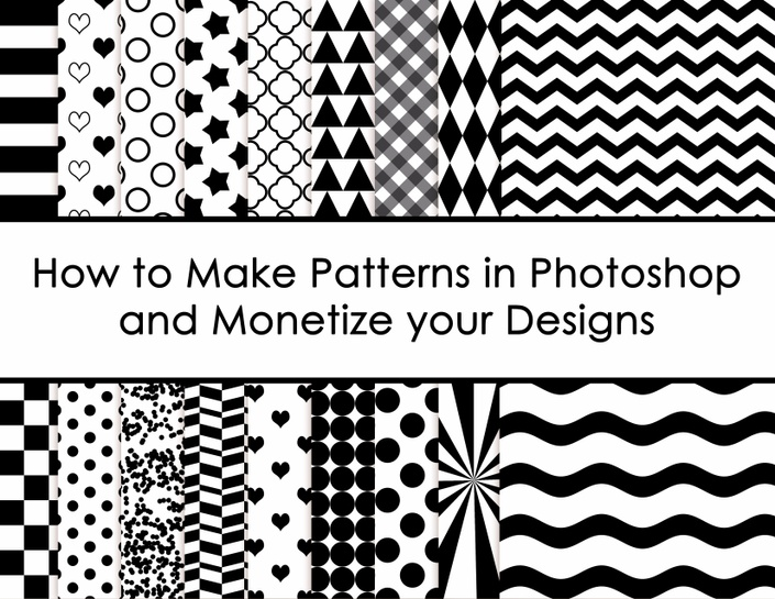 How To Create Patterns In Photoshop And Monetize Your Designs Build Stunning How To Make Patterns In Photoshop