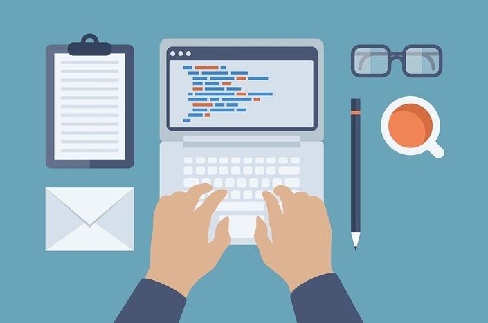 Tjluq4marzfwr6gsivle bigstock web and html programming flat  60074276