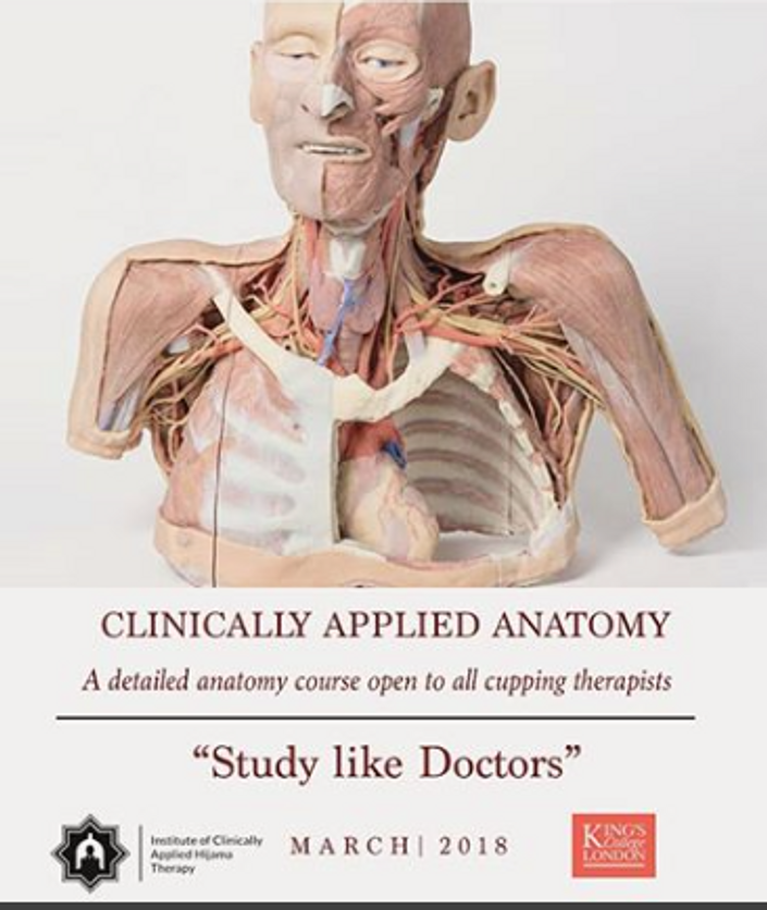 Clinically Applied Anatomy | Institute of Clinically Applied Hijama