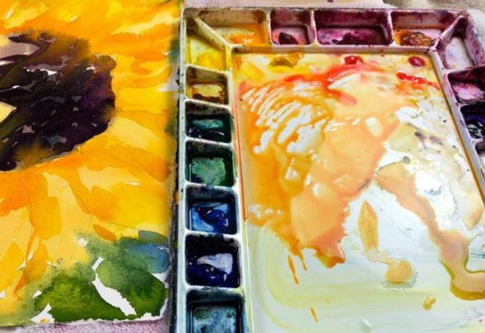 Self Paced Courses Birgit O Connor Watercolors