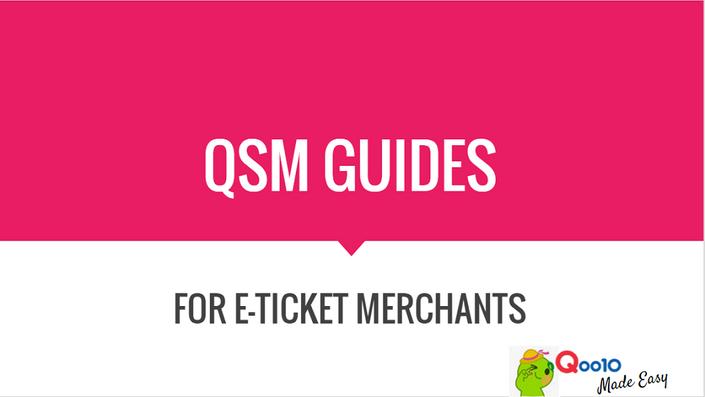 Intermediate guide to qsm (i) | qoo10 ecommerce training &.