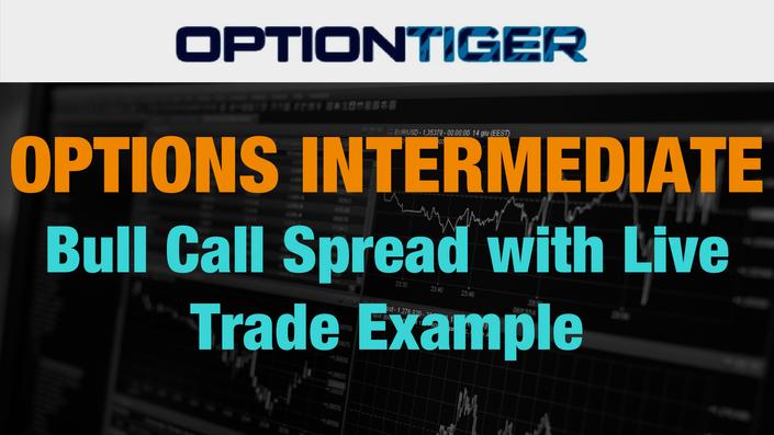 Live option trade