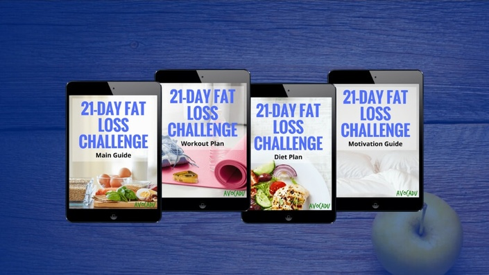 21 Day Fat Loss Challenge Avocadu