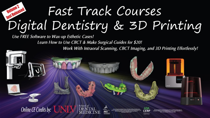 Dental 3D Printing For Restorative & Surgical Procedures