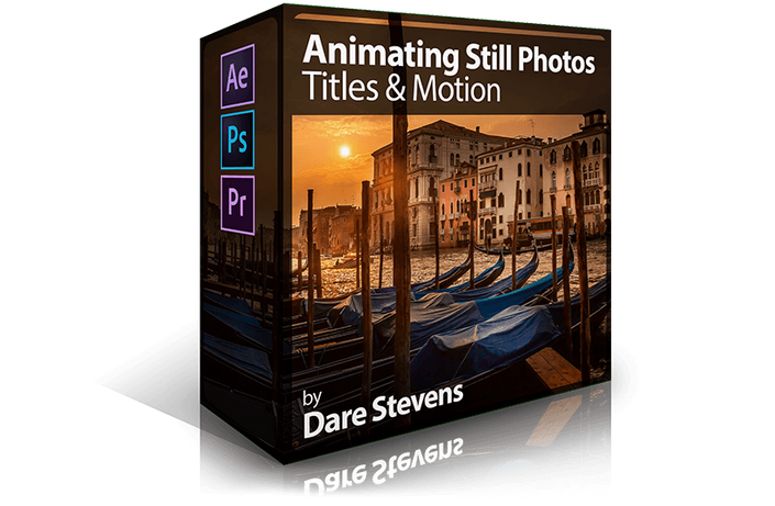 After Effects 101: Animating Still Photos with Text and