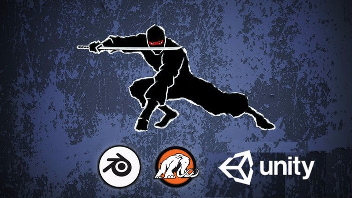 Make a Ninja Survival game for mobile in Unity® and Blender