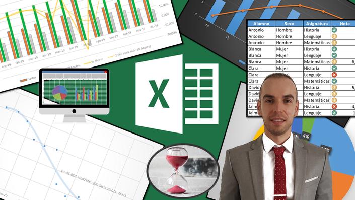 Curso Excel De Basico A Avanzado Gratis Analisis Al Cuadrado