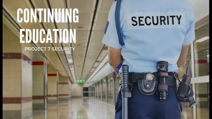 California Continuing Education | Project 7 Security Online