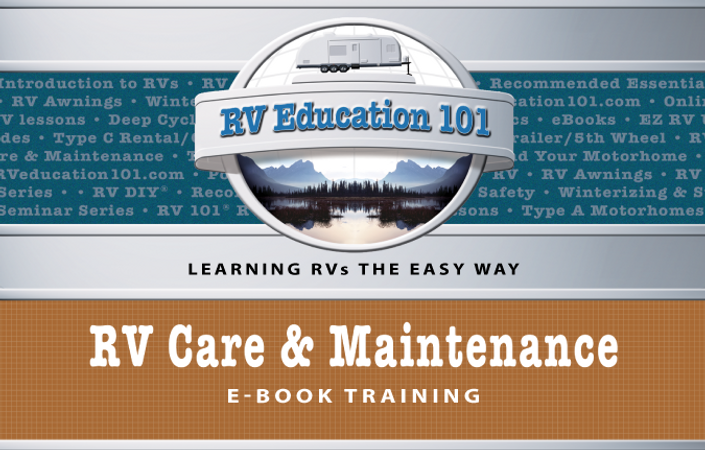 Rv Care Maintenance E Book Course Rv Education 101