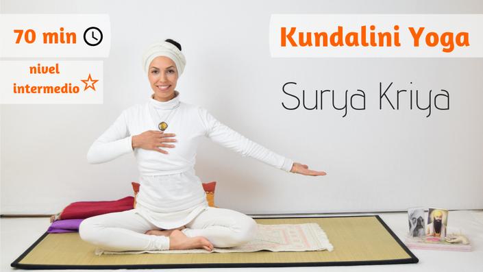 Surya Kriya  Creando energía solar en nuestro interior  | Marta Millan