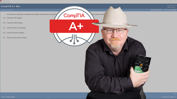 course image CompTIA A+ Certification 901  The Total Course | Infosec4