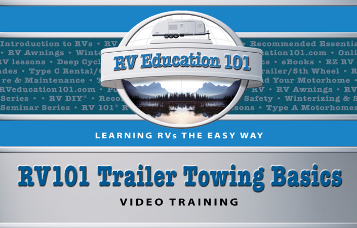 RV 101 - Travel Trailer Towing Online Training Course | RV