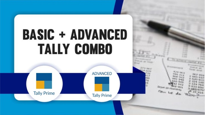 Basic+Advance Tally Prime with GST