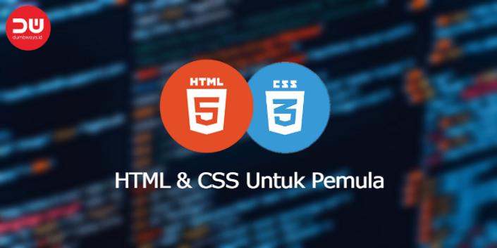 Video Tutorial: HTML dan CSS Untuk Pemula