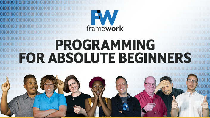 Programming for Absolute Beginners   Framework Television