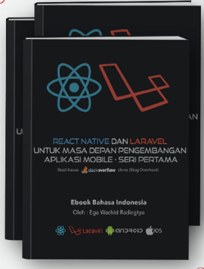 Ebook: React Native dan Laravel