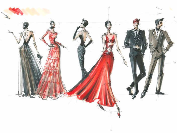 Fashion Drawing With Markers For Beginners Online School Of