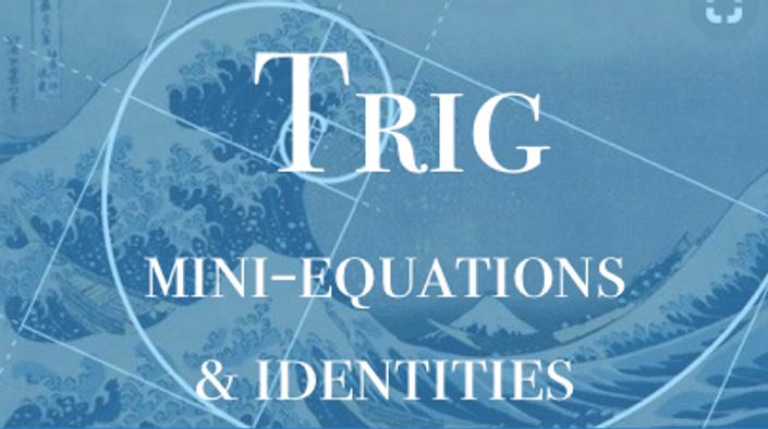 Solving trig mini-equations | Ronnie\'s Classroom
