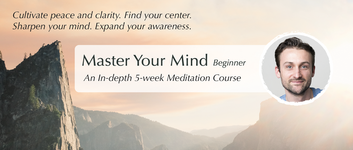 ways to stop stressing meditation course