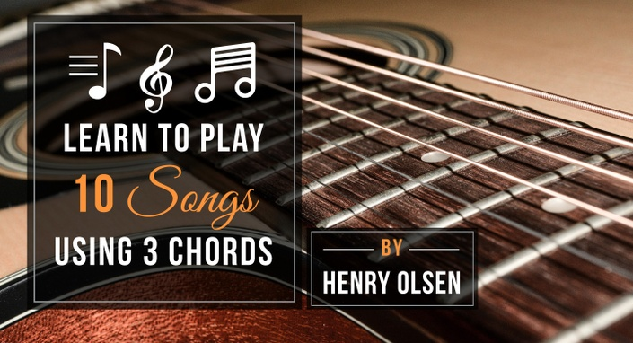Learn To Play 10 Songs Using Just 3 Chords Supersimpleguitar