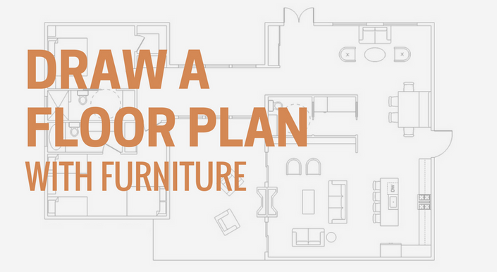 how to draw a floor plan with sketchup