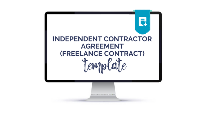Independent Contractor Agreement Freelancer Contract Template Blog