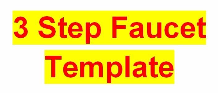 3 Step Faucet Template for Faucetinabox Script | Achim's courses