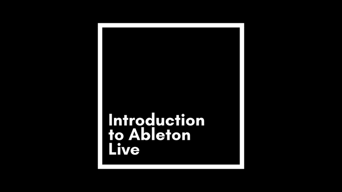 Introduction to Ableton Live