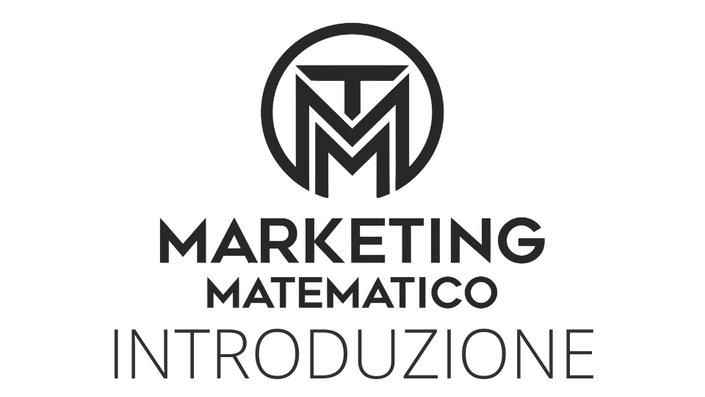 Introduzione al Marketing Matematico