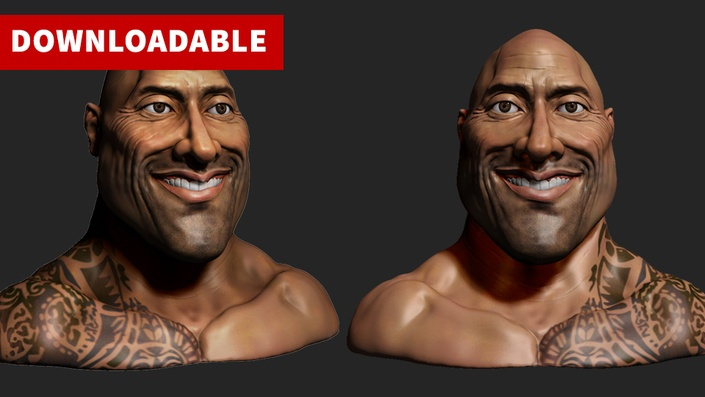 DL) Sculpting a Caricature Character for 3D Printing in