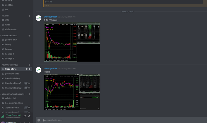 Discord Live Trading Alerts | Newby Trading