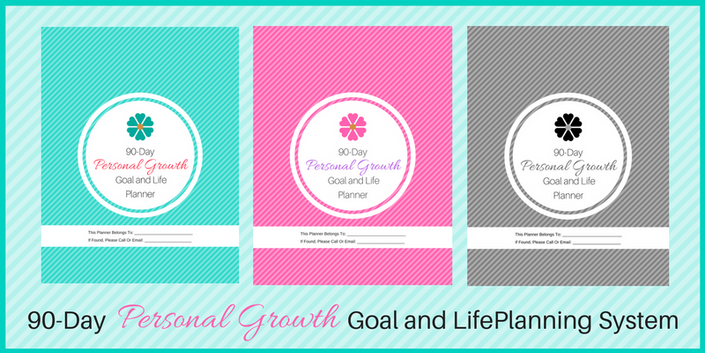 90 day personal growth goal and life planning system online course planner
