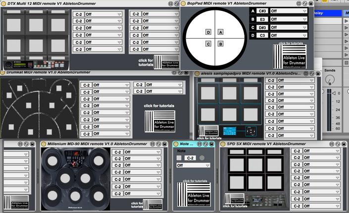 Midi Devices Full Control : ableton drummer master class abletonkurse ~ Vivirlamusica.com Haus und Dekorationen